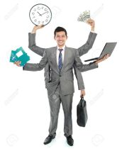 16165587-potrait-of-busy-business-man-do-more-than-one-job-Stock-Photo-multitasking-man-multiple
